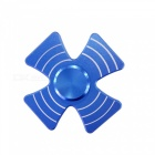 Dayspirit Four Leaves Shaped Stress Relief Finger Gyro Rotator - Blue