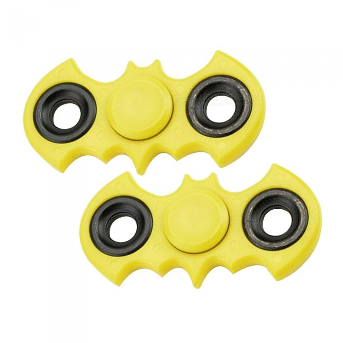 Dayspirit ABS Finger Stress Relief Gyro Rotator Toys - Yellow (2 PCS)Finger Toys<br>Form  ColorYellow (2PCS)MaterialABSQuantity1 DX.PCM.Model.AttributeModel.UnitSuitable Age 5-7 years,8-11 years,12-15 years,Grown upsPacking List2 x Spinners<br>