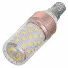 Marsing E14 12W 1200lm 60-2835 SMD Warm White Light LED Bulb