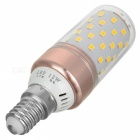 Marsing E14 12W 1200lm 60-2835 SMD Warm White Light ampoule LED