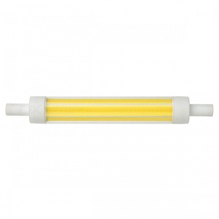Marquage R7S 118mm 15W 150lm COB dimmable blanc froid LED ampoule