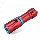 ZHAOYAO LED 100m Underwater 3-Mode Flashlight - Red