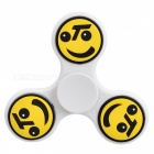 E-SMARTER Emoticon Pattern Stress Relief Toy EDC Spinner - белый