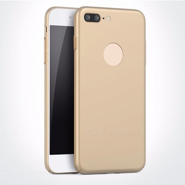 Naxtop PC Hard Protective Back Case for Apple IPHONE 7 Plus - GoldenPlastic Cases<br>Form  ColorGolden for IPHONE 7 PlusQuantity1 DX.PCM.Model.AttributeModel.UnitMaterialPCCompatible ModelsiPhone 7 PLUSDesignSolid ColorStyleBack Cases,Full Body CasesPacking List1 x Case<br>