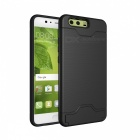 Protective Back Case with Card Slot for Huawei P10 - Black