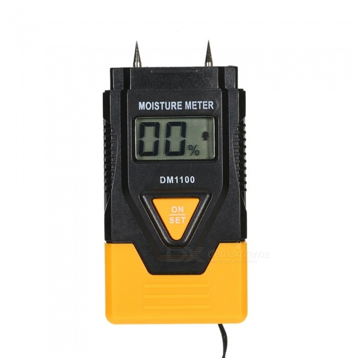 Digital LCD Moisture Meter with Temperature Measurement