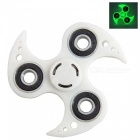 OJADE Luminous Fidget Toy Hand Spinner Finger Toy - White