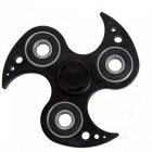 OJADE Luminous Fidget Toy Hand Spinner Finger Toy - Black