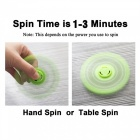 OJADE Luminous Fidget Toy Hand Spinner Finger Toy - Grön