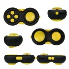 OJADE Fidget Cube Hand Shank Anti-Anxiety Finger Toy - Yellow