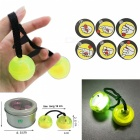 YWXLight LED Night Light Luminous YO YO Hand Finger Toy - Yellow
