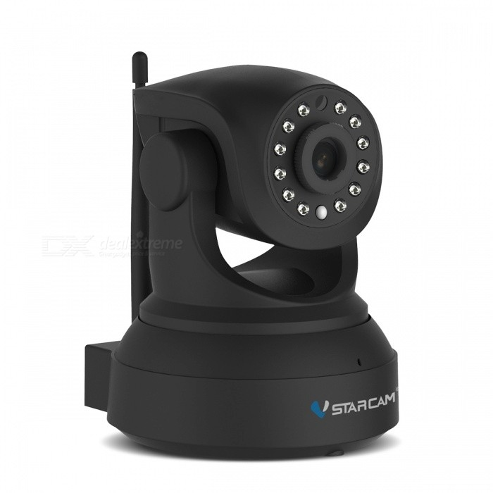 VSTARCAM C7824WIP 720P 1.0MP Wi-Fi Security IP Camera -Black (UK Plug)