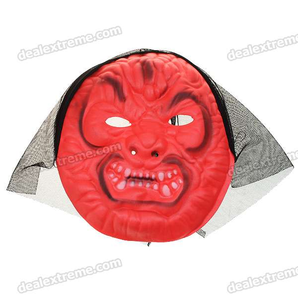 Scary Horror Red EVA Gruesome Masks (12-Piece)
