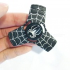 Dayspirit Spiderman Triangle Finger Decompression Gyro Rotator-Musta