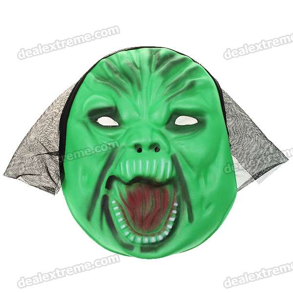 Scary Horror Green EVA Gruesome Masks (12-Piece)