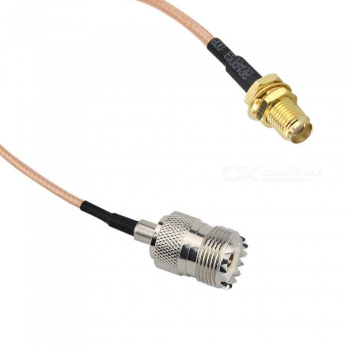 Electronics handheld antenna cable for uhf base and mobile