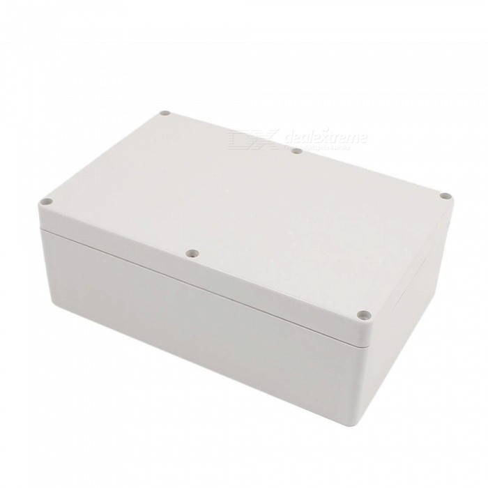 230 x 150 x 85mm Plastic Waterproof Junction Box Housing - Gray