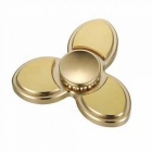 Fidget Triangle Hand Spinner Brass Finger Toy for EDC Focus AD