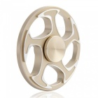 OJADE Metal Hand Spinner Fidget Toy for ADD ADHD Kids Adults - Golden