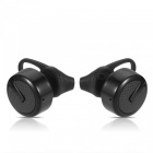 Cwxuan Wireless Bluetooth V4.2 Stereo In-Ear Headset - Schwarz (1 Paar)
