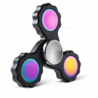 OJADE Fidget Hand Spinner EDC Focus Stress Relief Toy - Black