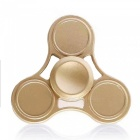 OJADE Hand Tri-Spinner Fidget Toy for ADD Kids Adults - Golden