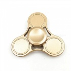 OJADE Hand Tri-Spinner Fidget lelu ADD Kids aikuisille - Golden