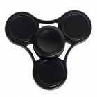 OJADE Hand Tri-Spinner Fidget Toy for ADD ADHD Kids Adults - Black