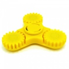 OJADE ABS Fidget Stress Relief Hand Spinner Finger Toy - Yellow