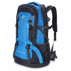 Multi-Function Waterproof 60L Backpack for Outdoors - Blue