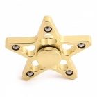 OJADE Five Pointed Star Fidget Toy Hand Spinner Finger Toy - Golden