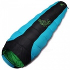 Hasky Thicken Four Holes Cotton Outdoor Camping Sleeping Bag - Blue