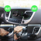 ZIQIAO Universal Car Air Vent Cell Phone Holder - Black