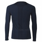 NUCKILY Long-Sleeve Riding Jacket for Spring Summer - Deep Blue (3XL)