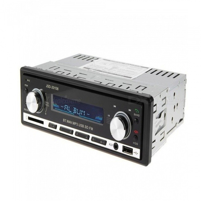 KELIMA Bluetooth Auto MP3 Player mit FM Radio, freihändiger Anruf