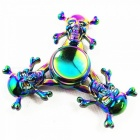 OJADE Skull Shaped Rainbow Hand Spinner Fidget Fingertips Gyro Toy