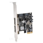 SiliconImage 2 SATA & 2 eSATA Expansion PCI-e Express Card