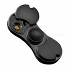 ZHAOYAO 2-in-1 USB Rechargeable Lighter Finger Hand Spinner - Black