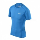 Caxa Outdoor Sports Short Sleeve Round Neck Short Jersey - Blue (XL)