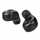 E7 Mini Bluetooth Trådlös Twins Stereo In-Ear Sport Hörlurar - Svart