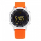 EX18 5ATM Waterproof Bluetooth V4.0 Smart Watch with Pedometer -Orange