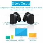 Q5 True Wireless Bluetooth V4.1 Stereo Earphone - Black
