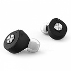 T8 TWS Twins True Mini Wireless Bluetooth V4.1 Earphone - Black