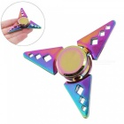 OJADE Sharp Triangle-Shaped Fingertip Gyro Hand Spinner - Colorful