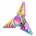 OJADE Sharp Triangle-Shaped Fingertip Gyro Hand Spinner - Färgrik