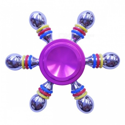 Dayspirit Six-Bead Finger Stress Relief Gyro Rotator Toy - Pink