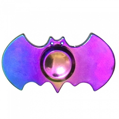 Mr.northjoe Bat Style Fidget Relief Toy EDC Hand Spinner - Multicolor