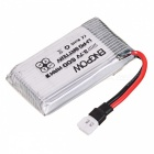ENGPOW Four 3.7V 600mAh Lipo Batteries with Charger for Syma X5C