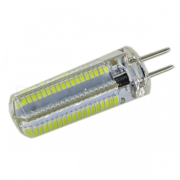 SZFC 8W GY6.35 152 LEDS Dimmable LED Bulb Cold White 6000KOther Connector Bulbs<br>Color BINCold WhiteMaterialPCBForm  ColorWhiteQuantity1 DX.PCM.Model.AttributeModel.UnitPowerOthers,8WRated VoltageOthers,100~130 DX.PCM.Model.AttributeModel.UnitConnector TypeOthers,GY6.35Chip Type3014 SMDEmitter TypeLEDTotal Emitters152Theoretical Lumens800 DX.PCM.Model.AttributeModel.UnitActual Lumens0-750 DX.PCM.Model.AttributeModel.UnitColor Temperature3000KDimmableYesBeam Angle360 DX.PCM.Model.AttributeModel.UnitPacking List1 x LED bulb<br>