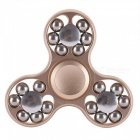 Alloy Finger Stress Relief Gyro Rotator Spinner avec 18 roulements de balles pour enfants, adultes
